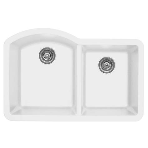 karran quartz sink reviews karran undermount quartz composite 32 in 60 40