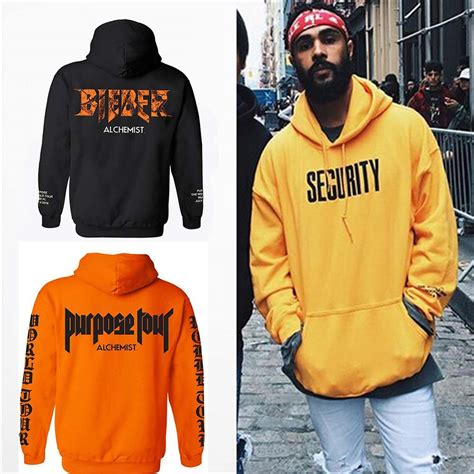 justin bieber hoodie alchemist fleece sweatshirt purpose tour hoodies streetwear clothes