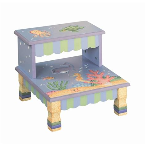 Teamson Step Stool by Step Stools Teamson Design The Sea Collection Step