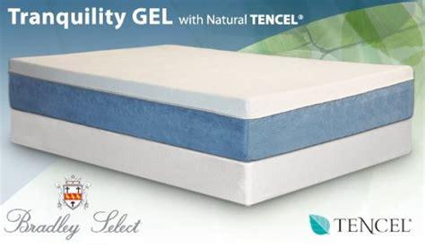 Tranquil Gel Mattress by 11 Tranquility Gel Foam Mattress King With 8 Hardwood