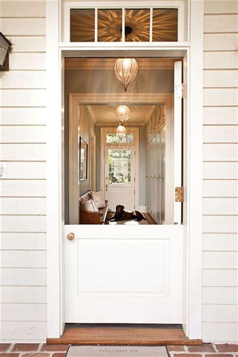 dutch door country home exterior jones pierce architects