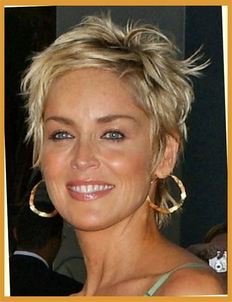 how to style sharon stones short hair style sharon stone hairstyles image collections hair and