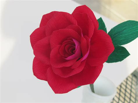 Make Crepe Paper Roses - crepe paper flowers flower bazaar home of everlasting
