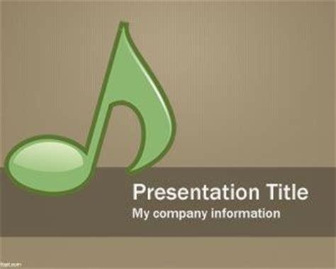Powerpoint Design Vorlagen Musik Musical Powerpoint Template Ppt Template