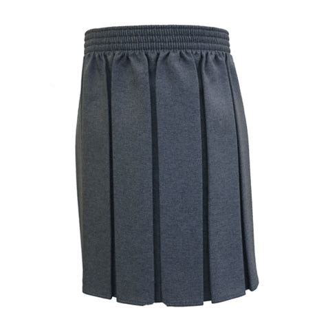 grey pleated junior skirt from the schoolwear specialists