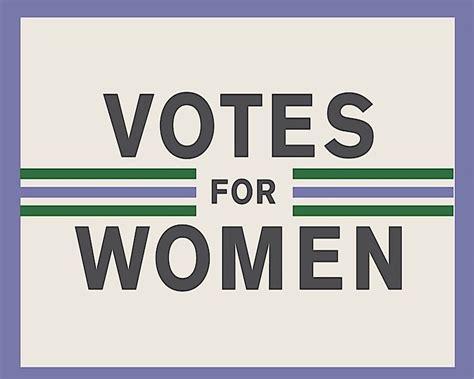 Gift Wrap Shops - votes for woman suffragette metal propaganda wall sign retro art