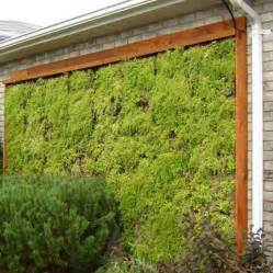 outdoor living wall planters the green
