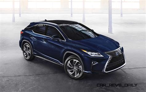 lexus dark blue 2016 lexus rx350 and rx450h