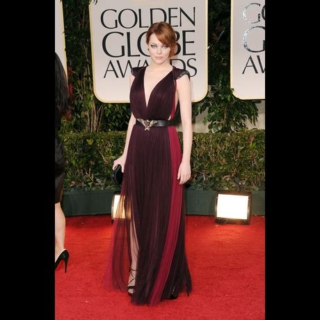 emma stone 1950s best and worst dressed at the 2012 golden globes asterisky