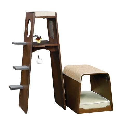 Petco Step Stool by Sauder Modular Modern Cat Tower Petco