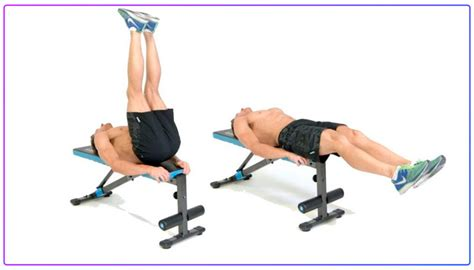 Bench Abs by 5 Abs Exercises On A Bench Ab Workout Decline Bench