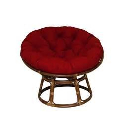 seat papasan chenille fabric replacement cushion wicker papasan chair home furniture design