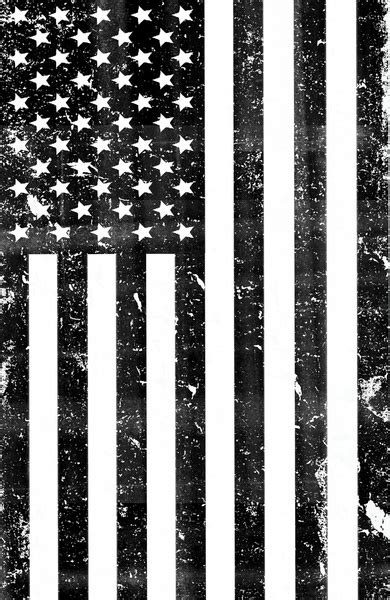 printable american flag black and white dirty vintage black and white american flag framed art