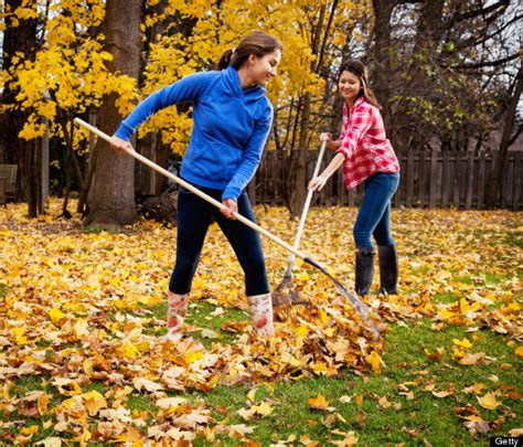 Burn Leaves In Backyard by 25 Ways To Cut 250 Calories Huffpost