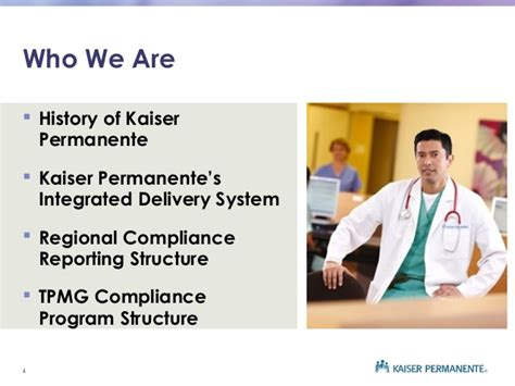 Kaiser Permanente Mba by Compliance Auditing And Monitoring