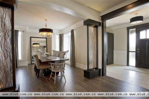 Living Room And Dining Separators 中式楼梯口隔断装修效果图 家居装修知识网