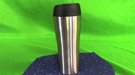 Ikea Eftersokt Travel Mug Termos Tumbler T 19cm V 35cl stainless steel travel coffee mugs silicone mobile phone holder brandstik discount mugs