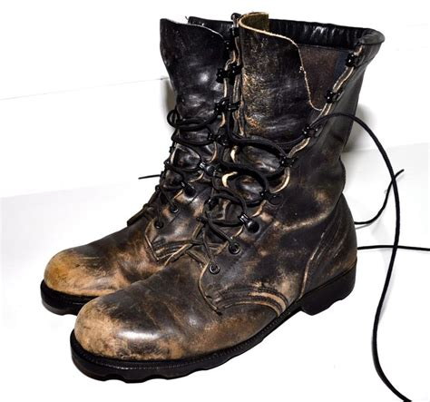 mens black distressed leather boots distressed leather faded black regalia combat