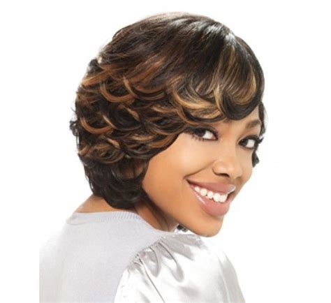 Short Cut With Feathers African Americans Styles | african american feathered hairstyles pixie cut