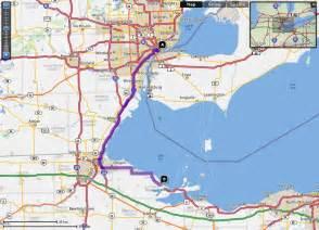 us map with detroit christine szymanowski and drew linder s wedding website