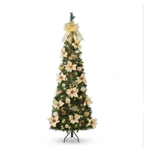 pre decorated pull up tree sale 6 pre lit lighted decorated artificial corner pull up tree ebay