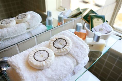 Luxury Shower Bath amenities the blank space