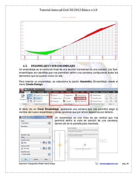 tutorial of autocad civil 3d tutorial autocad civil 3d 2012 bc3a1sico v