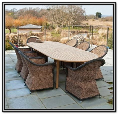 wicker outdoor dining furniture outdoor wicker dining sets white patios home decorating ideas prmknr2pln