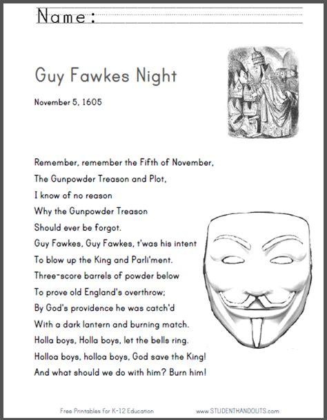 november testo remember remember the fifth of november the gunpowder