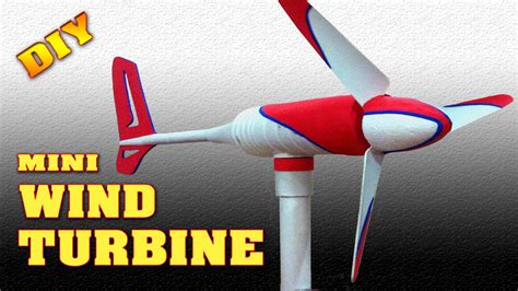 mini wind turbine diy how to make free energy