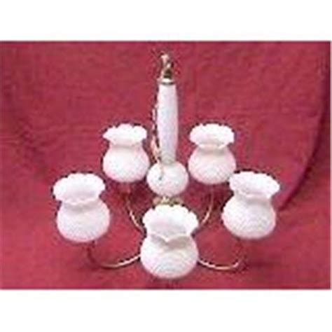Hobnail Milk Glass Chandelier Hobnail Milk Glass Chandelier 1947521