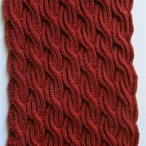 knitting stitches for a scarf knit scarf pattern brioche cabled turtleneck scarf knitting