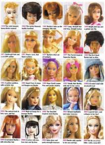 hairstyles through the years what happened on march 9th meet barbie if i only had a