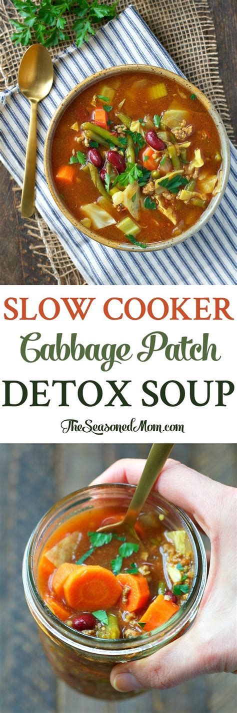 Vegetarian Cabbage Detox Soup by Best 25 Back On Track Ideas On Coping Skills