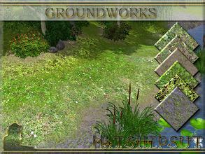 Backyard Creations Pacifica Collection Sims 3 Garden Sets