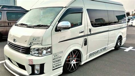 toyota hiace vip 2015 model toyota hiace youtube
