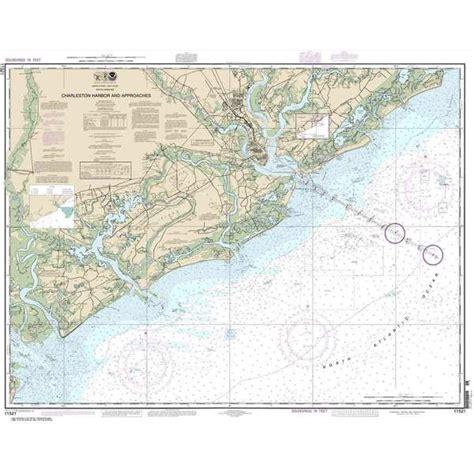 west marine charleston noaa charleston harbor and approaches 35 x 44 waterproof
