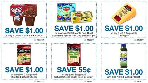 Supermarket Coupons Printable