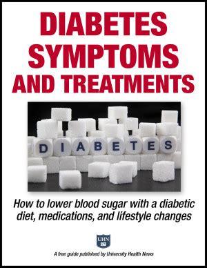 diabetes symptoms  treatments    blood sugar