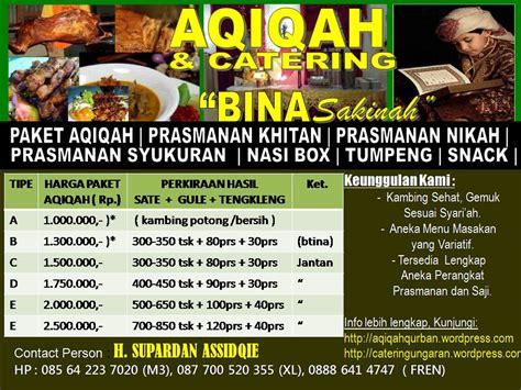 Asilah Syari catering pusat layanan jasa aqiqah kota magelang aqiqah