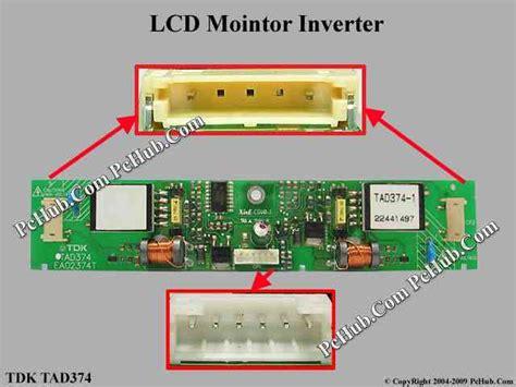 Inverter Monitor Lcd tdk tad374 lcd monitor tv inverter tad374 ea02374t