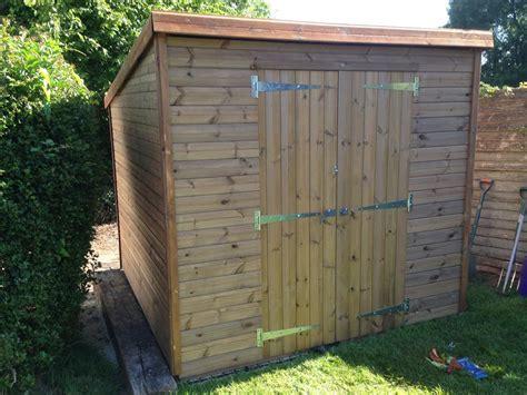 summers 8x7 wooden sheds details
