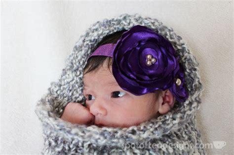 diy head band to hide balding newborn photos and a diy baby headband spot of tea designs