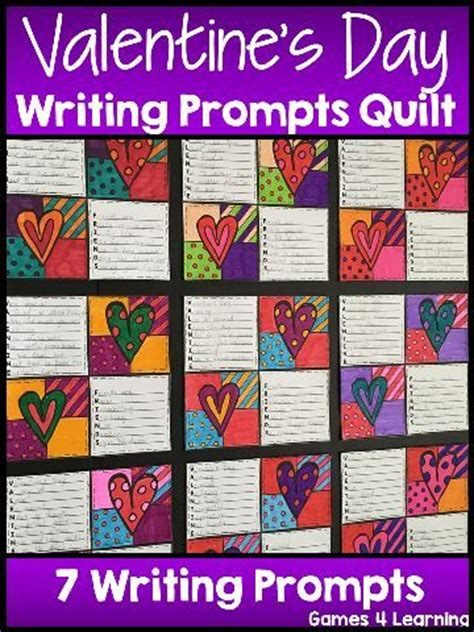 valentines day writing prompts s day activity s day writing prompts