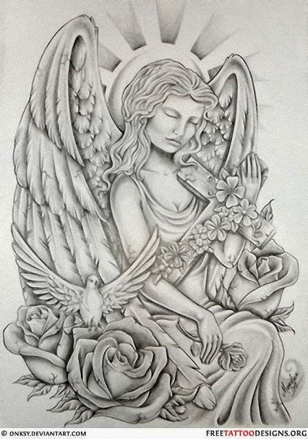 guardian angel tattoos angel tattoo designs pinterest angel tattoos angel wings guardian angel and st michael
