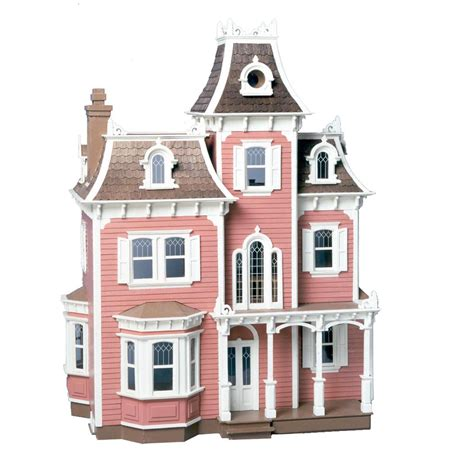 hobby lobby doll houses greenleaf beacon hill dollhouse kit 1 inch scale collector dollhouse kits at hayneedle