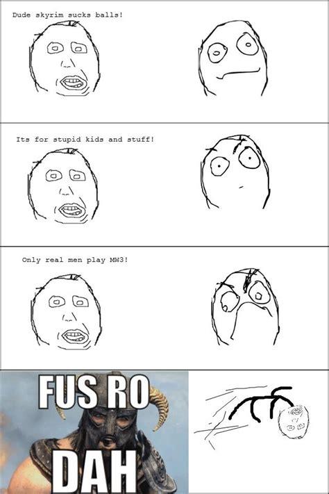 Fus Ro Dah Meme - image 201284 fus ro dah know your meme