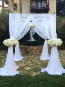wedding arches joann fabrics custom arch designed and built by flower box wedding arch