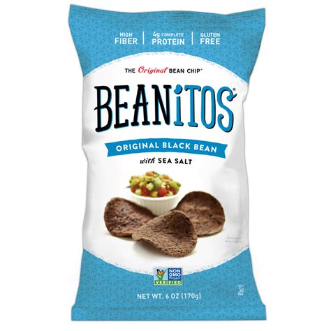 Beanitos Bean Chips   Black Bean Chips   6oz Bags   Coffee Wholesale USA