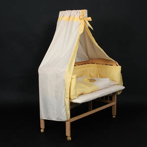 Bedside Cot Co Sleeper Height Adjustable by Baby Bedside Wooden Cot 94x44x75 Cm Rolls Co Sleeper